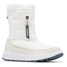Columbia Paninaro Omni-Heat Pull On WP Winter Boots Women white/fawn